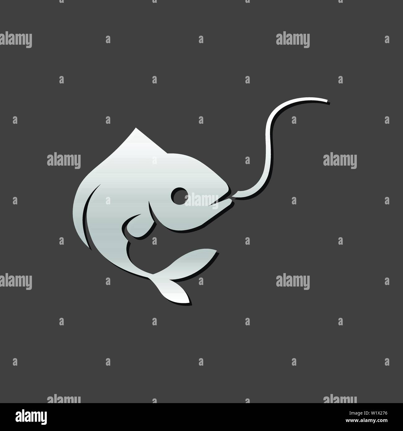 Vector Illustration - Dolphin silhouette isolated. EPS Clipart gg78475922 -  GoGraph