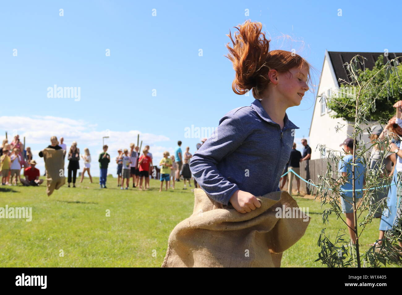 Midsommar Day - Stock Image