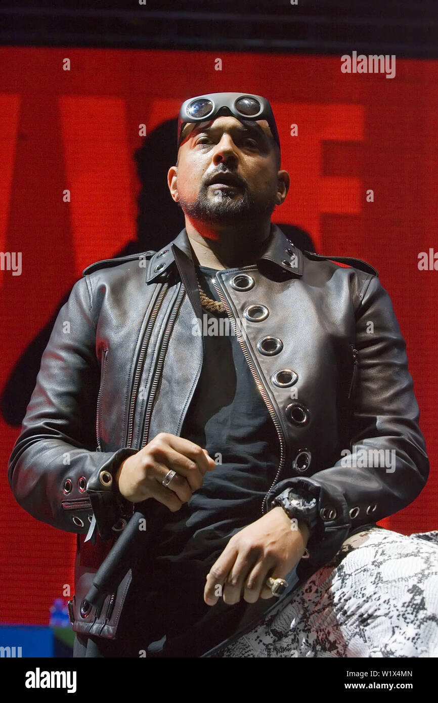 Sean Paul performing at the SSE Hydro, part of the Scottish Events