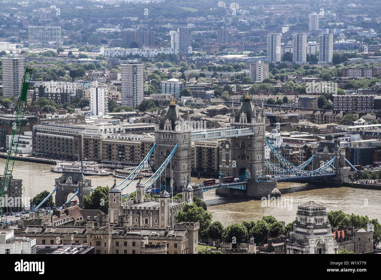 London city scapes land marks - Stock Image