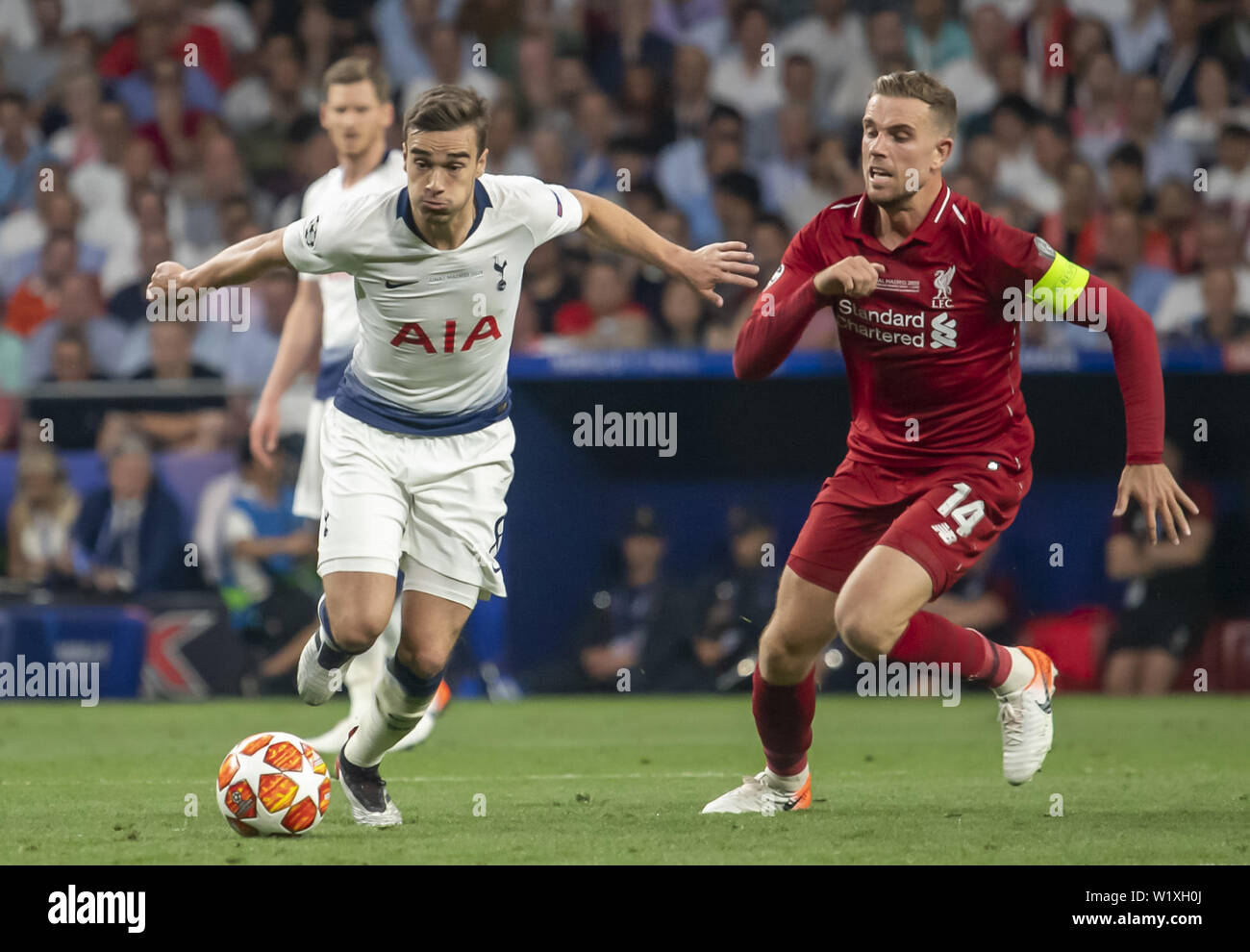 Liverpool Fc V Tottenham Hotspur During The 2019 Champions League Final Held In Madrid Spain Liverpool
