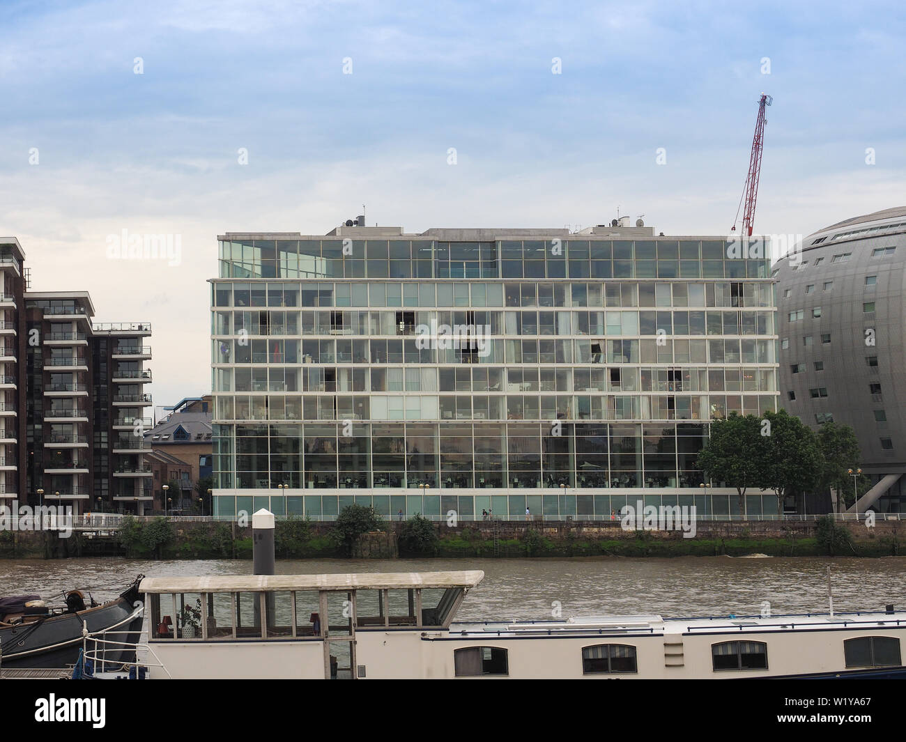LONDON, UK - CIRCA JUNE 2019: Foster and Partners office in Chelsea - Stock Image