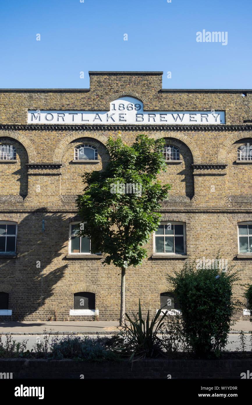 Mortlake Brewery, Mortlake, LOndon, UK - Stock Image