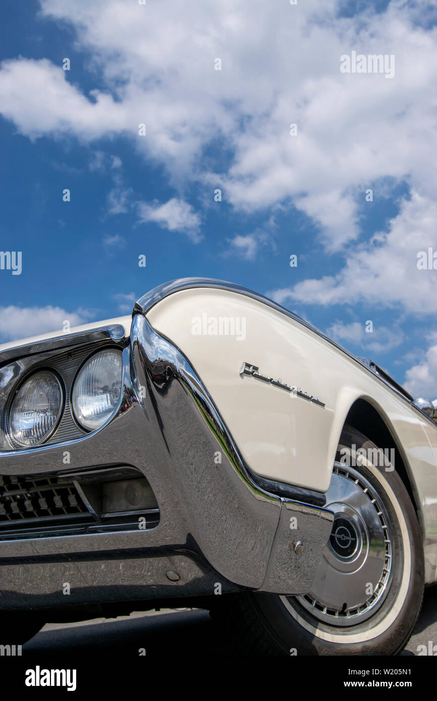Vintage Thunderbird car Stock Photo