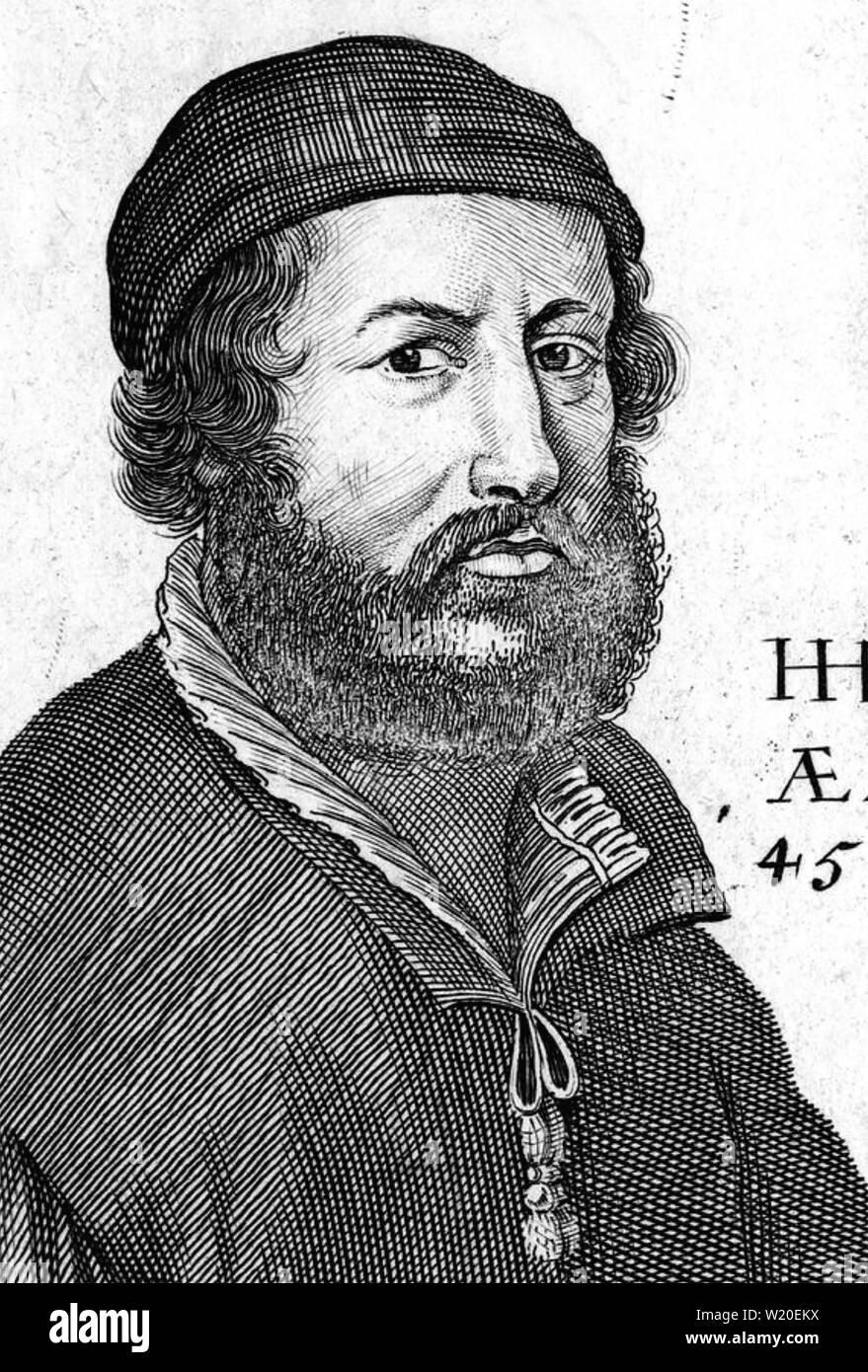 HANS HOLBEIN THE ELDER (c 1460-1524) German painter - Stock Image