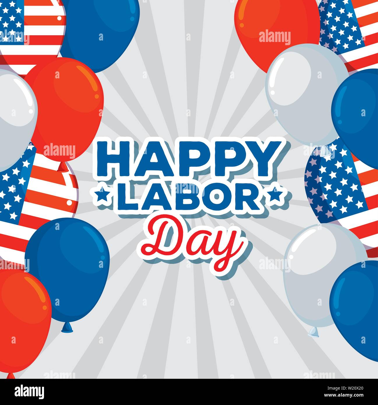 Happy And Traditional Labor Day Celebration Stock Vector Art