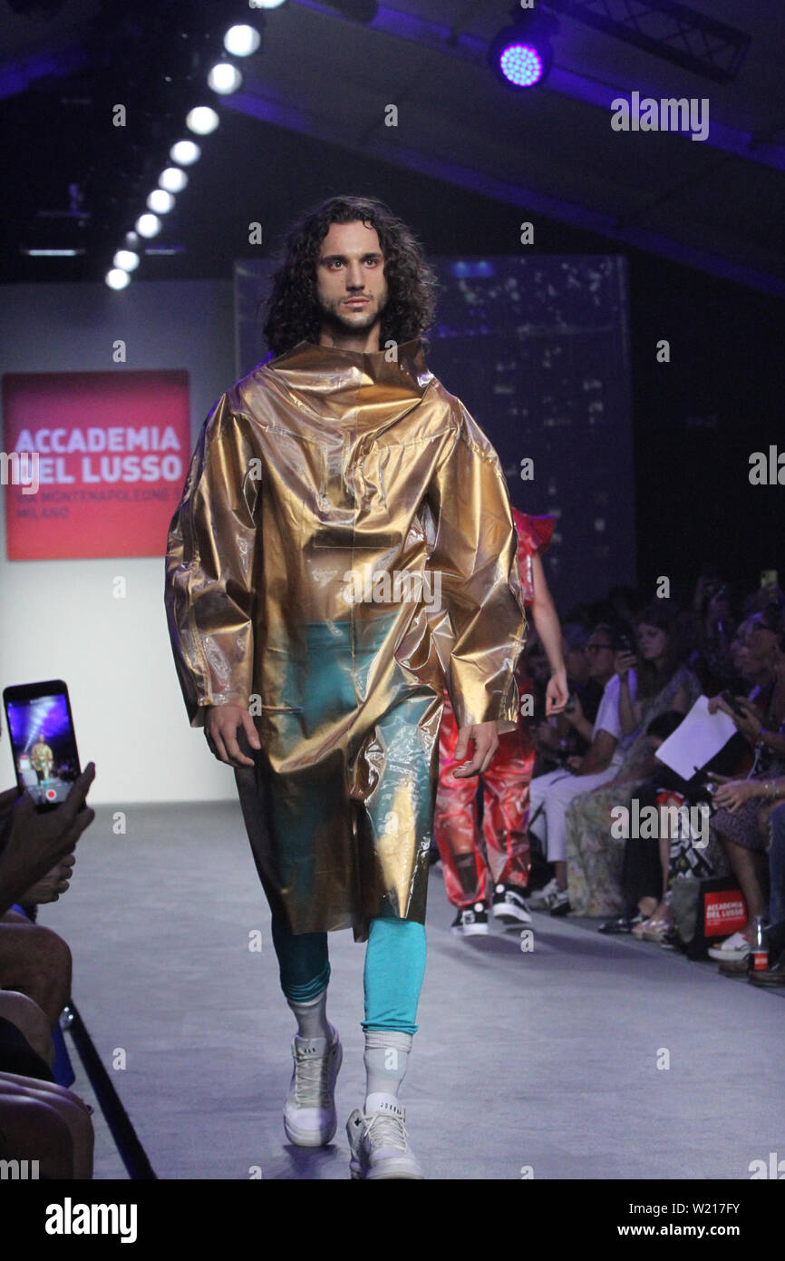 Rome Italy 04th July 2019 Italian Accademia Del Lusso Presenting His New Spring Summer Collection At Altaroma 2019 Hosted In Pratibus District In Rome Credit Paolo Pizzi Pacific Press Alamy Live News Stock Photo 259412719