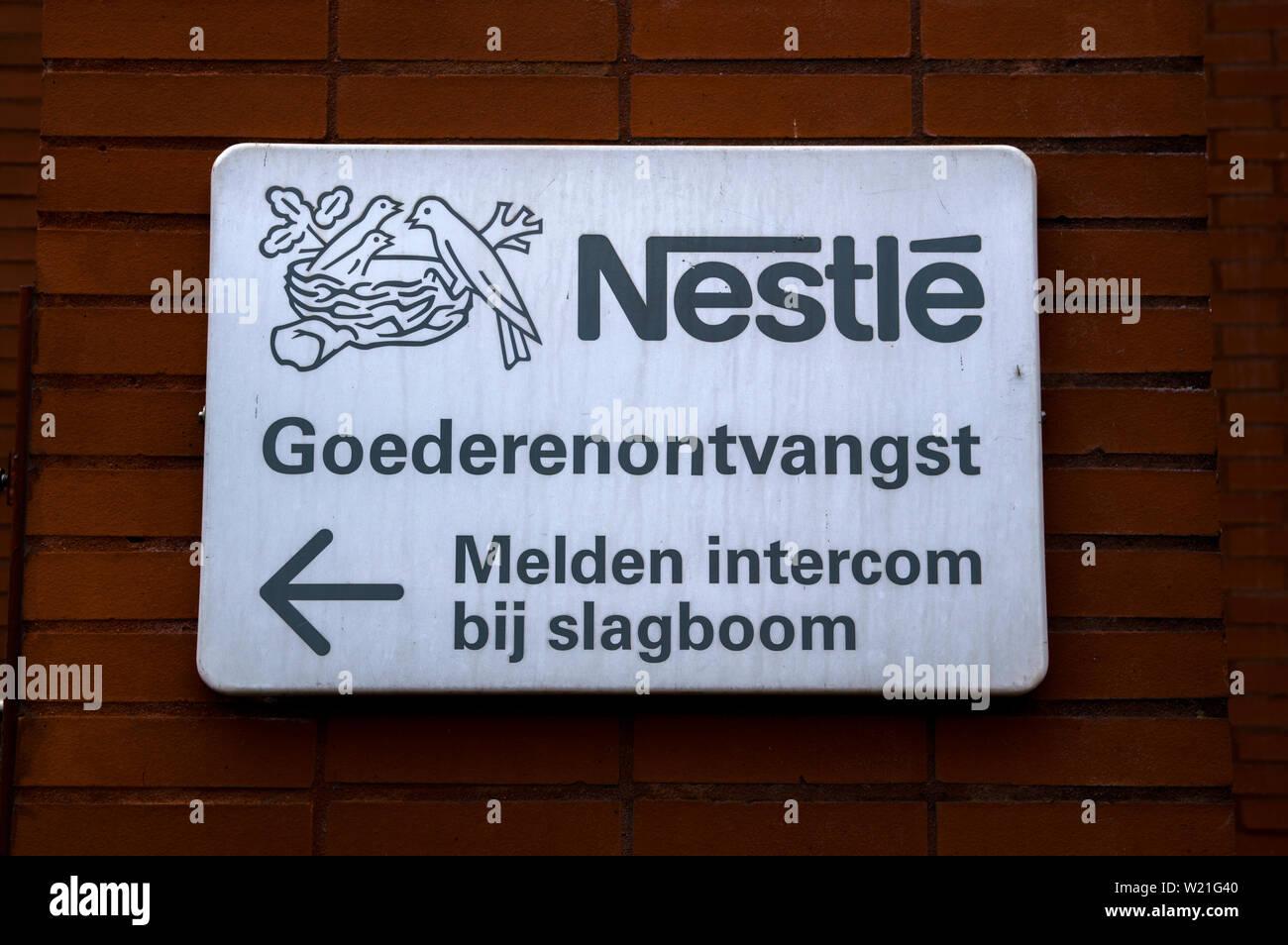 Nestle Nestlé Company Logo Icon Stock Photos & Nestle Nestlé Company