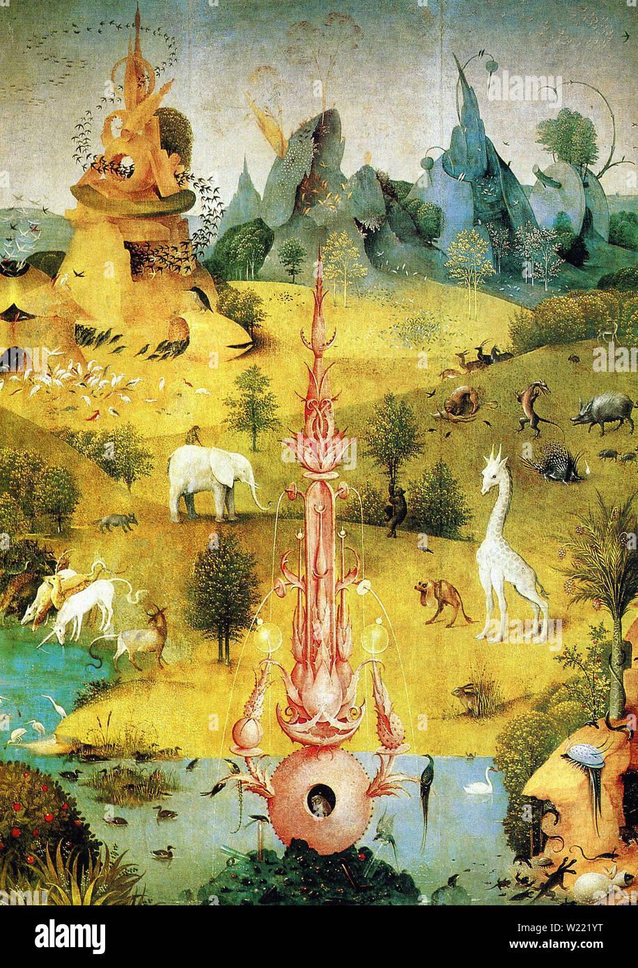 Bosch , Garden Earthly Delights Stock Photo 259430300 , Alamy