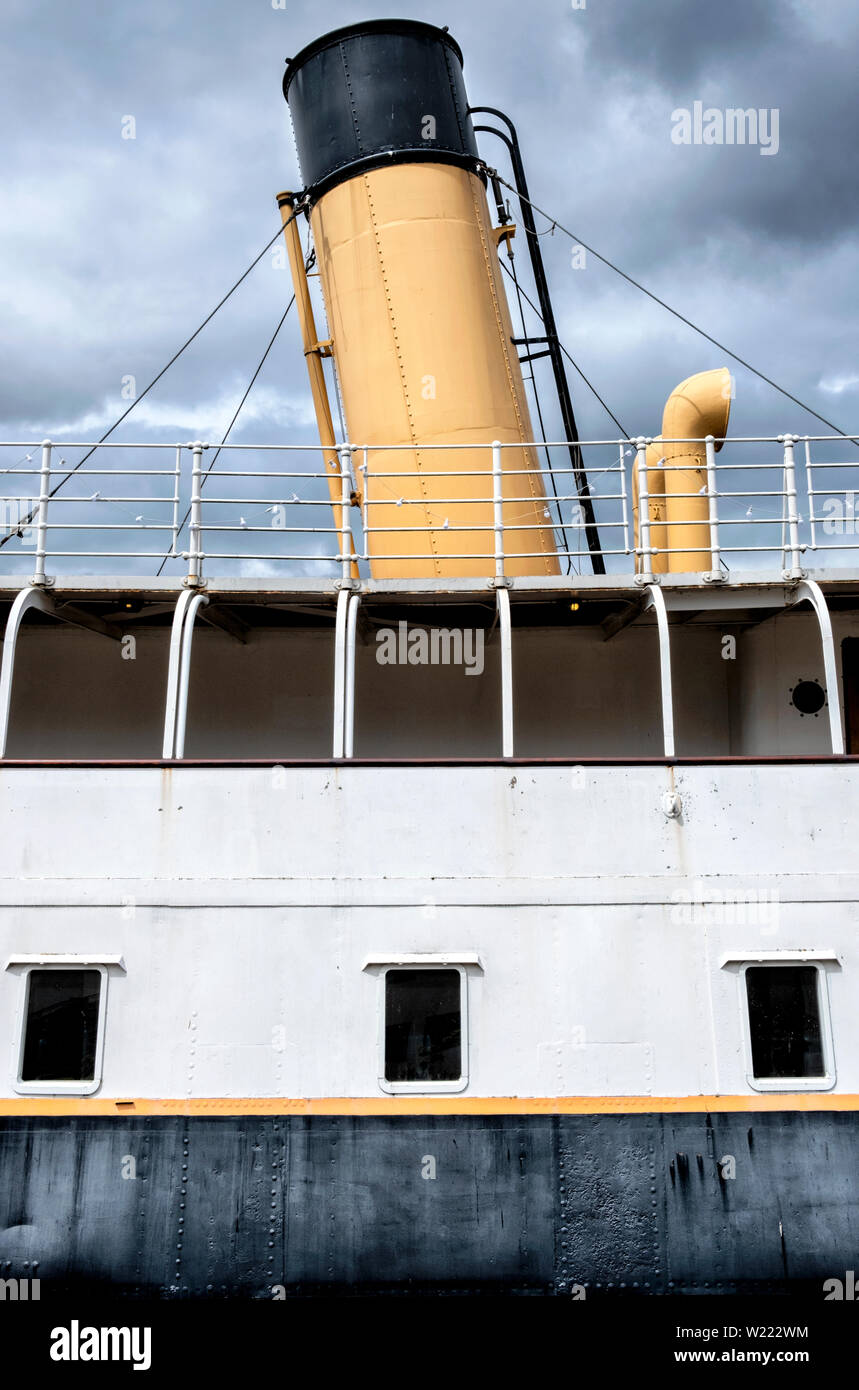 SS Nomadic Belfast - Stock Image