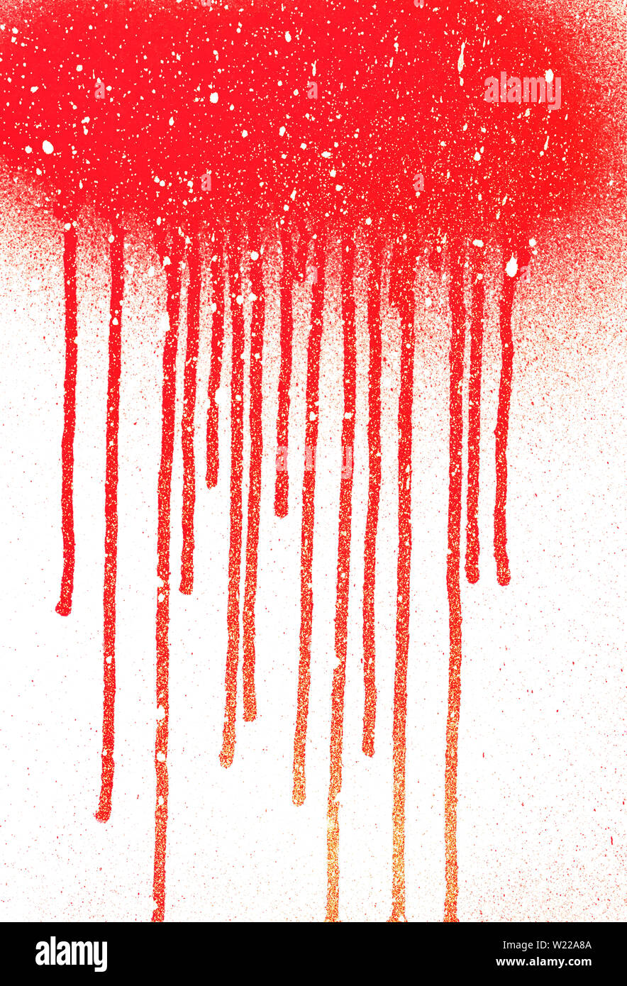 Abstract Dripping Paint Aerosol Art With Snow Effect Copy Space