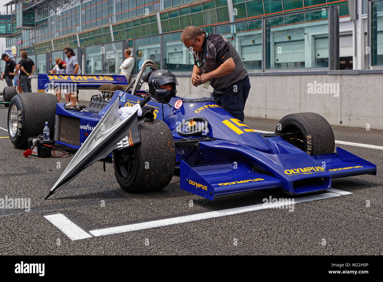Preparation For Formula One Race Stock Photos & Preparation