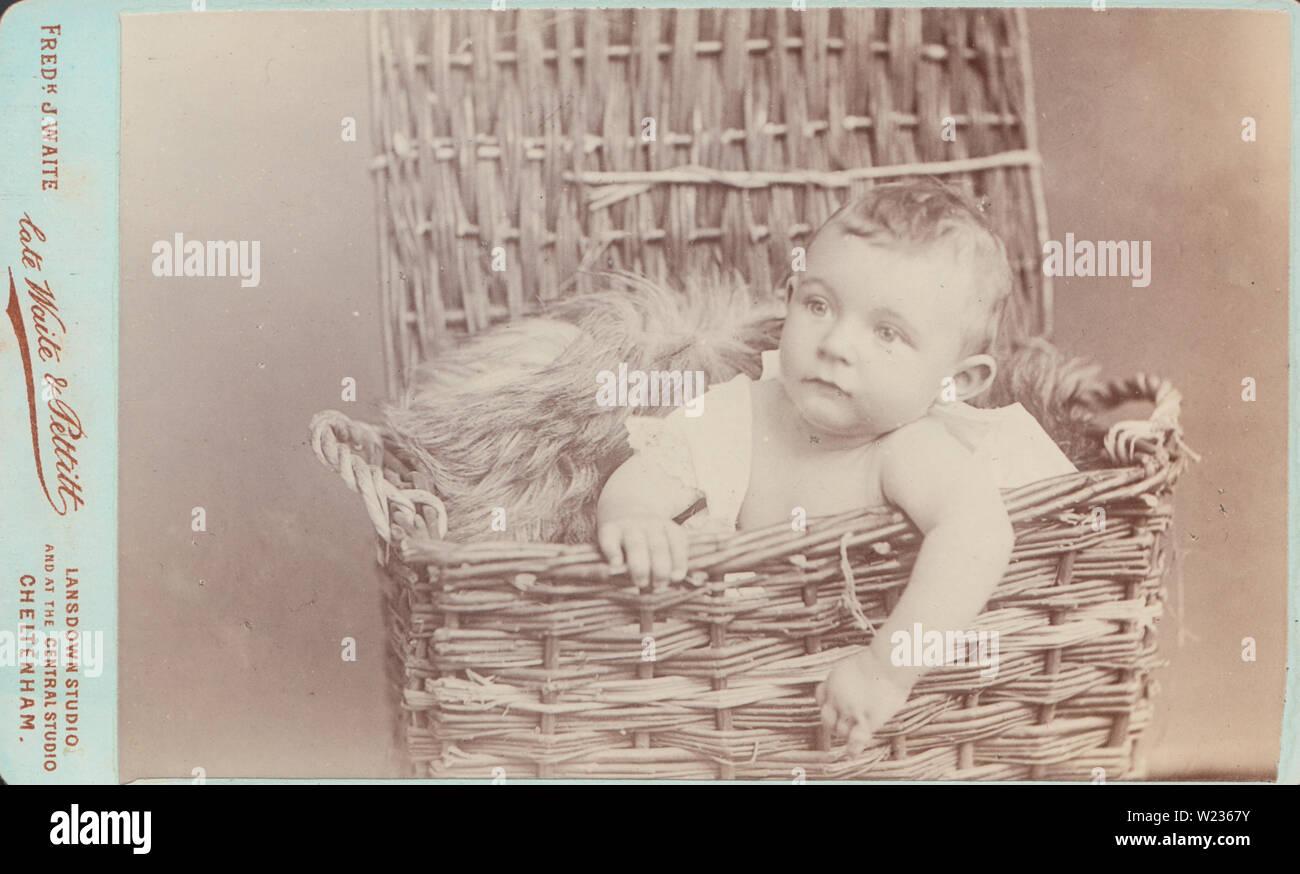 Antique Cheltenham Cdv Carte De Visite Of A Cute Victorian
