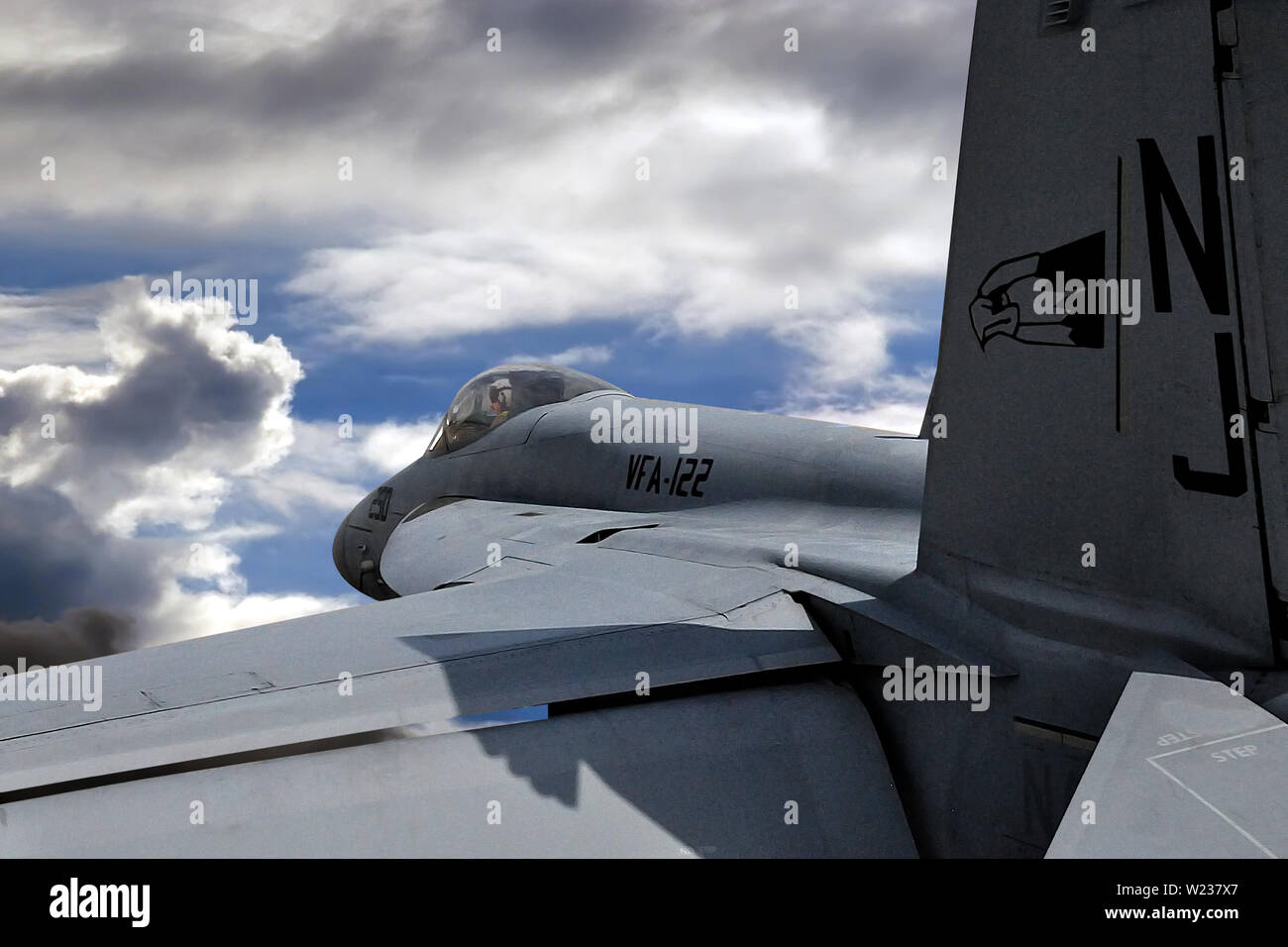 Boeing FA-18 Super Hornet Stock Photo