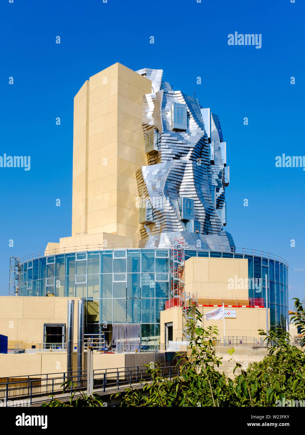 LUMA Arles building by Frank Gehry, June 2019 Stock Photo: 259463007