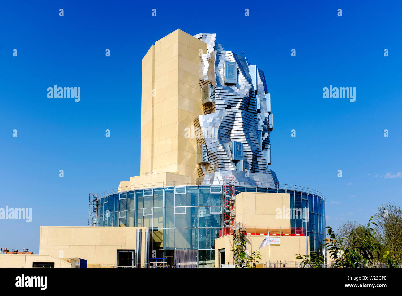 LUMA Arles building by Frank Gehry, June 2019 Stock Photo: 259463862