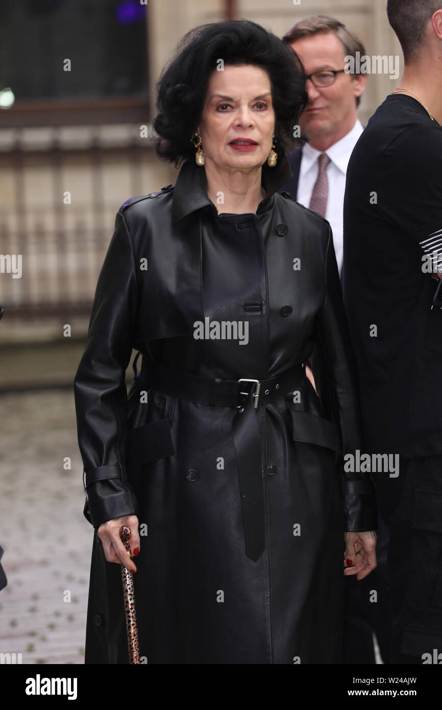 Royal Academy of Arts Summer Exhibition Preview Party - Arrivals Featuring: Bianca Jagger Where: London, United Kingdom When: 04 Jun 2019 Credit: Lia Toby/WENN.com - Stock Image