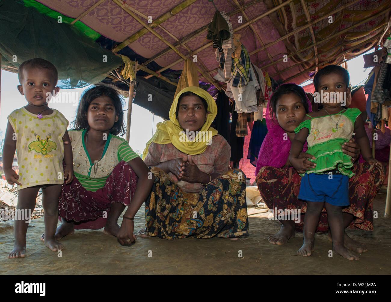 Rohingha Crisis Stock Photo