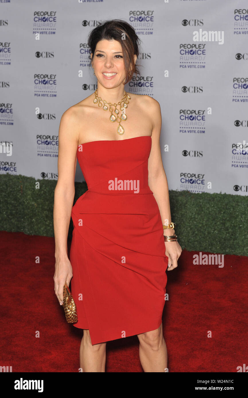 LOS ANGELES, CA. January 07, 2009: Marisa Tomei at the 2009 People's Choice Awards at the Shrine Theatre, Los Angeles. © 2009 Paul Smith / Featureflash - Stock Image