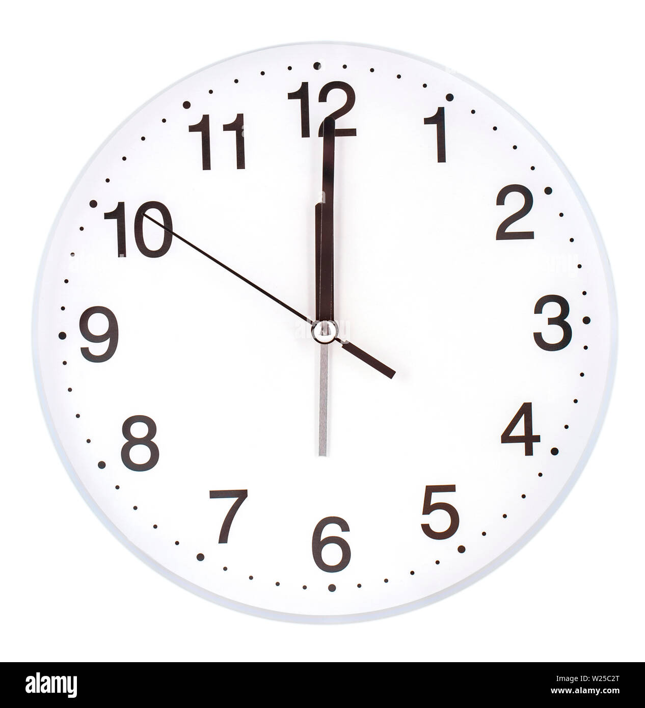 picture relating to Printable Clock Face With Minutes identify Blank clock encounter with hour, moment and moment arms isolated