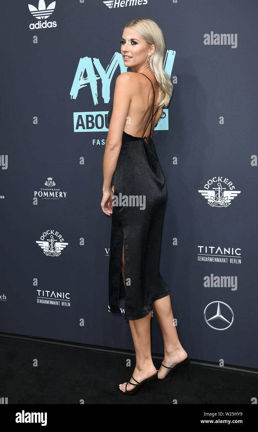05 July 2019 Berlin Lena Gercke Comes To The Show About