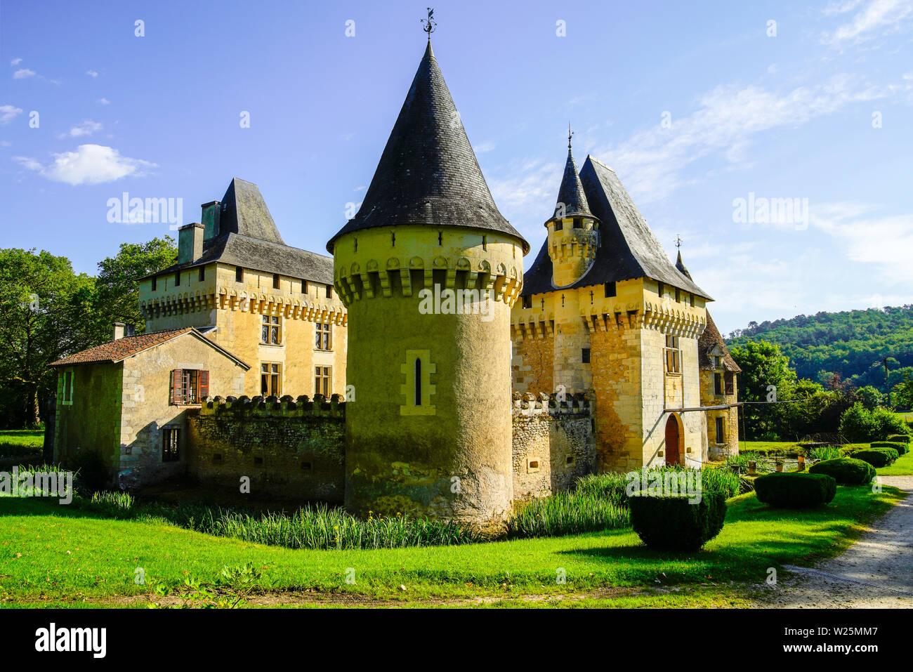 Château du Lieu-Dieu, Périgueux, Aquitaine-Limousin-Poitou-Charentes,  Dordogne, France Stock Photo - Alamy