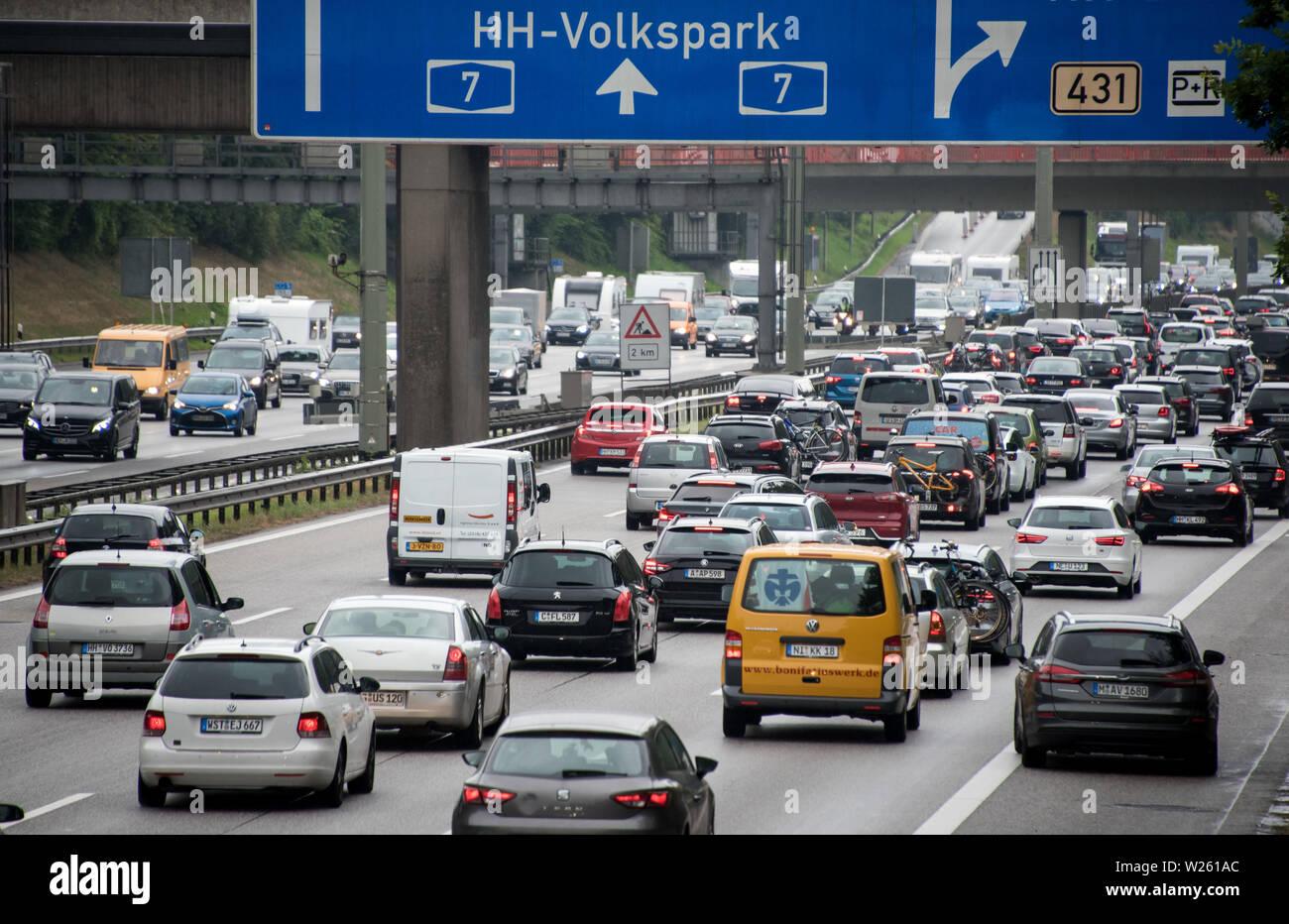 Traffic Jam In Denmark Stock Photos & Traffic Jam In Denmark Stock