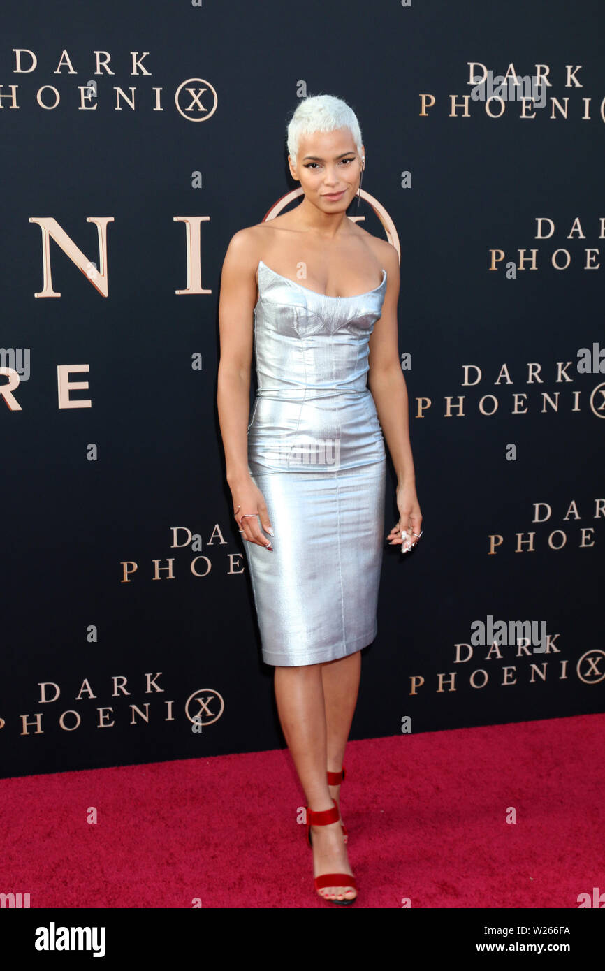 'Dark Phoenix' World Premiere at the TCL Chinese Theater IMAX on June 4, 2019 in Los Angeles, CA Featuring: Kota Eberhardt Where: Los Angeles, California, United States When: 05 Jun 2019 Credit: Nicky Nelson/WENN.com - Stock Image