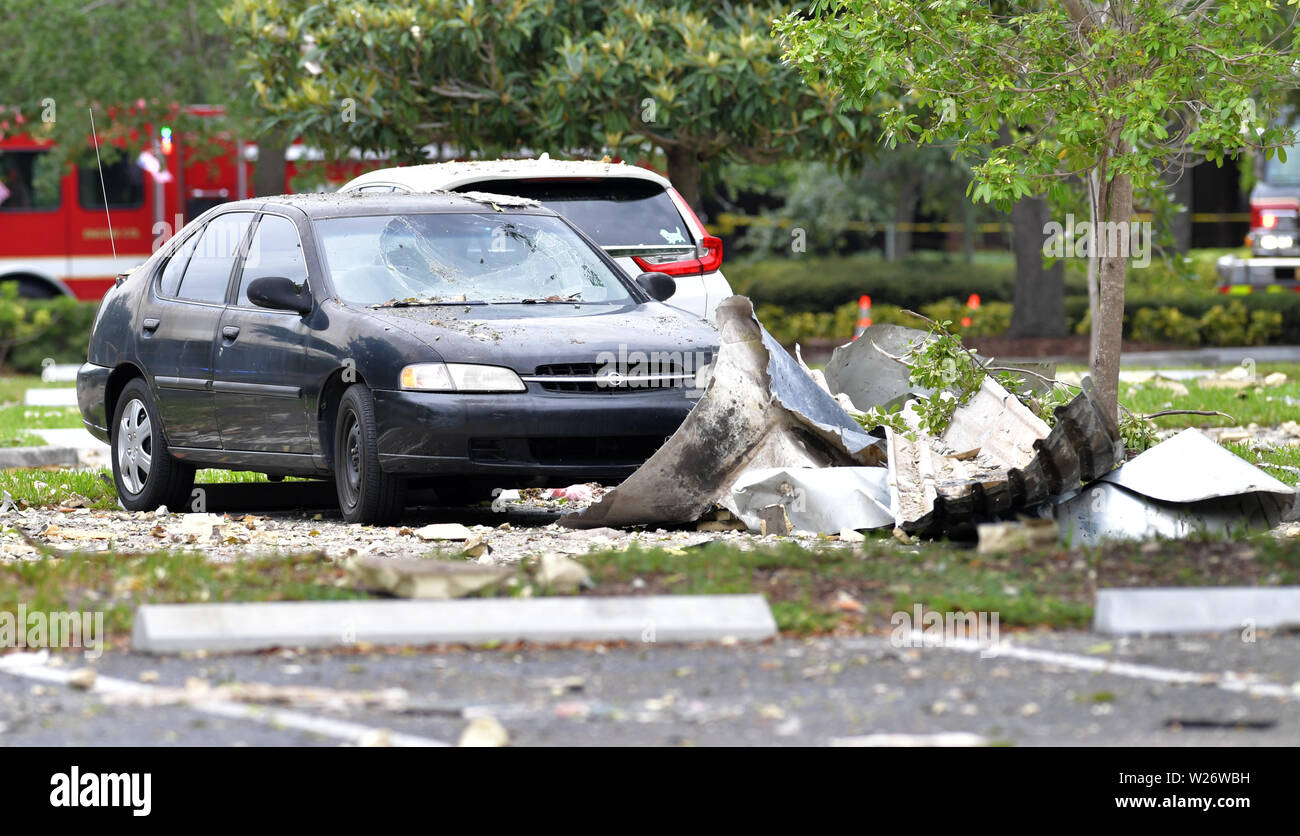 NO New York POST******** PLANTATION, FL - JULY 6: Police and fire