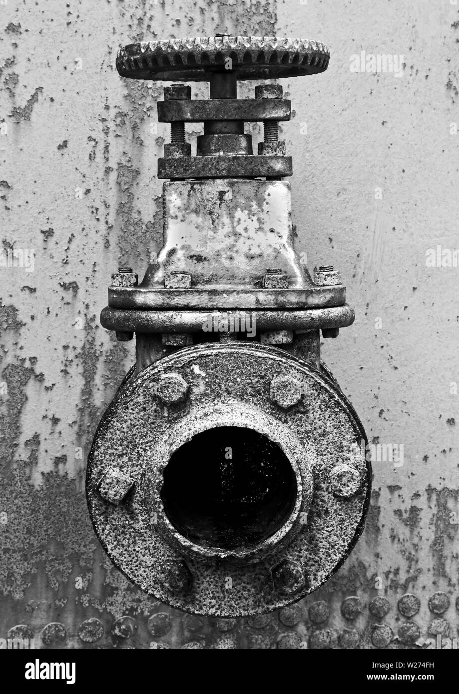 Industrial Relics #3 - Stock Image