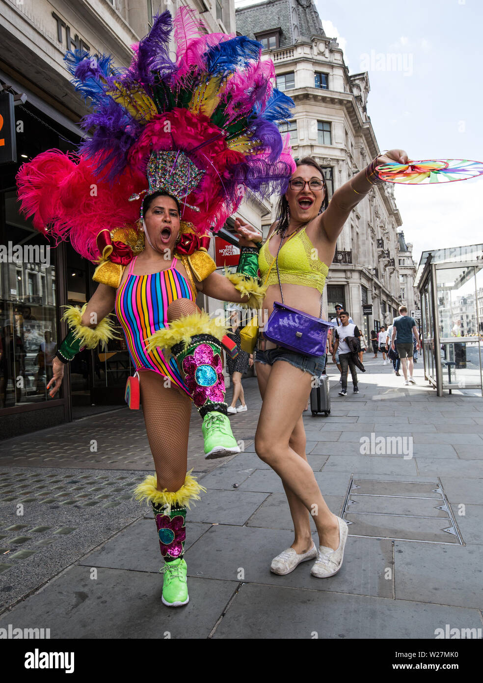 Pride London 2019 Stock Photo