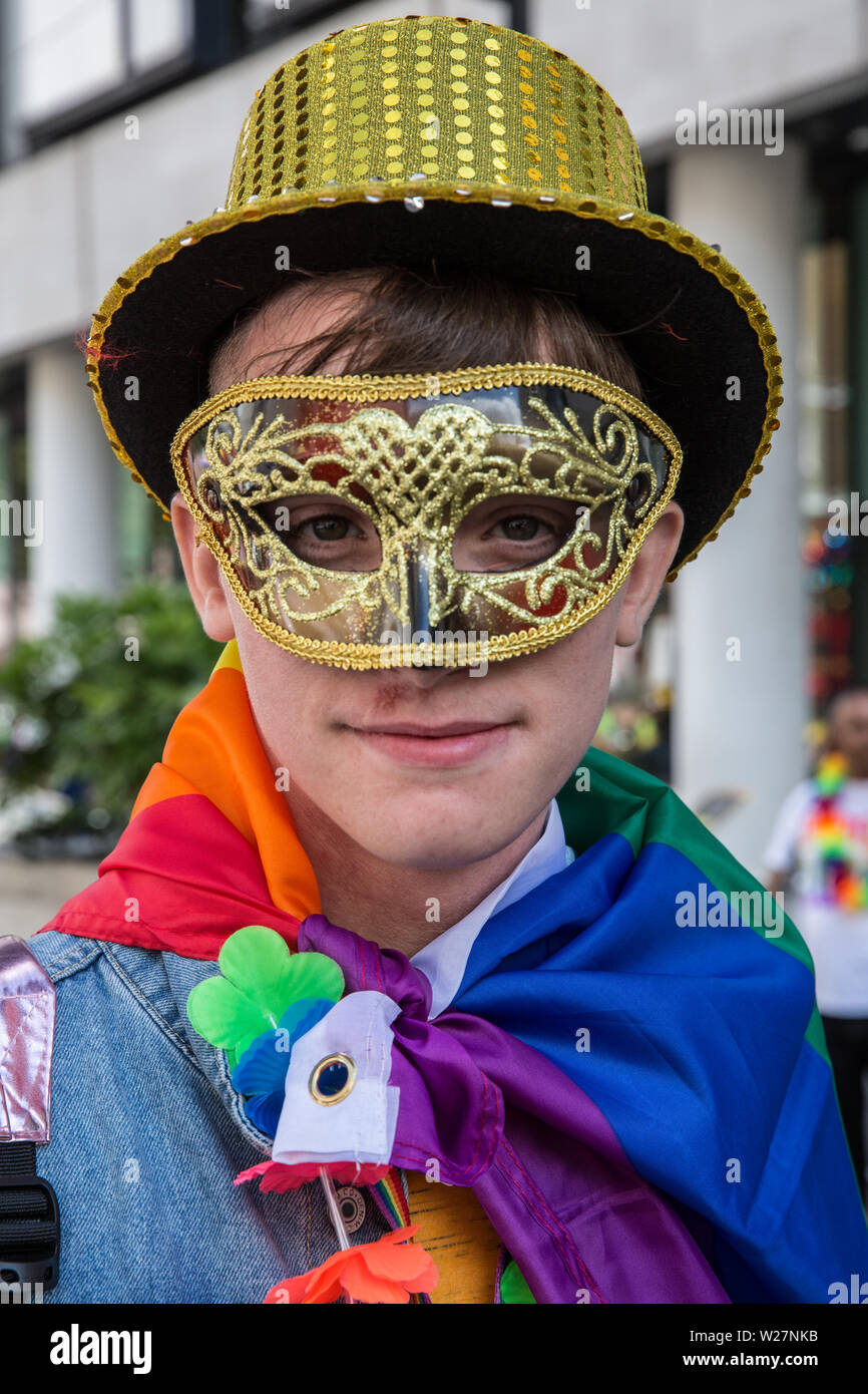 Pride London 2019 Stock Photo