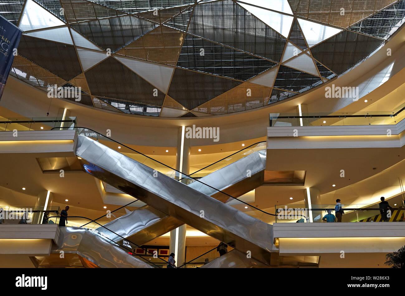 Interior Kota Kasablanka Mall, Jakarta, Indonesia - Stock Image