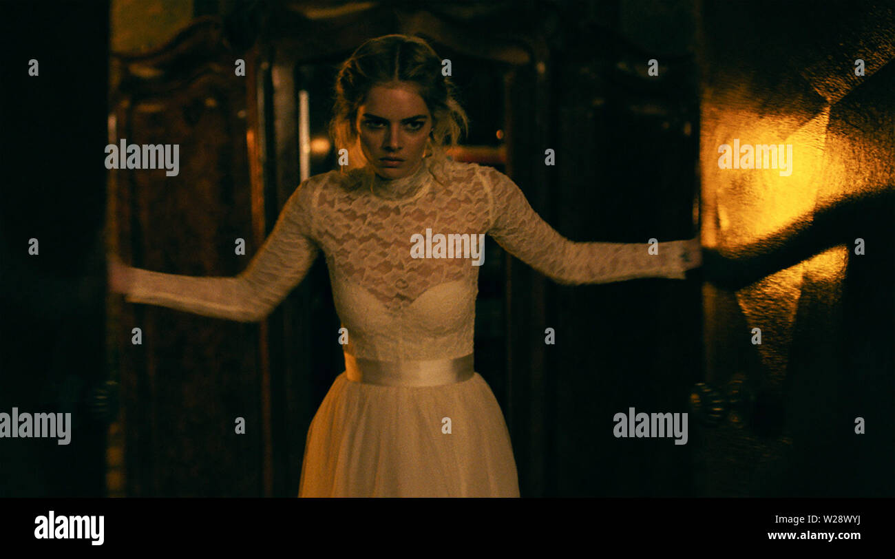 RELEASE DATE: August 23, 2019 TITLE: Ready Or Not STUDIO: Fox Searchlight Pictures DIRECTOR: Matt Bettinelli-Olpin, Tyler Gillett PLOT: A bride's wedding night takes a sinister turn when her eccentric new in-laws force her to take part in a terrifying game. STARRING: SAMARA WEAVING as Grace. (Credit Image: © Fox Searchlight Pictures/Entertainment Pictures) Stock Photo