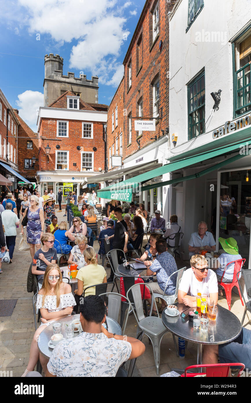 Bars And Restaurants In The Square Winchester Hampshire