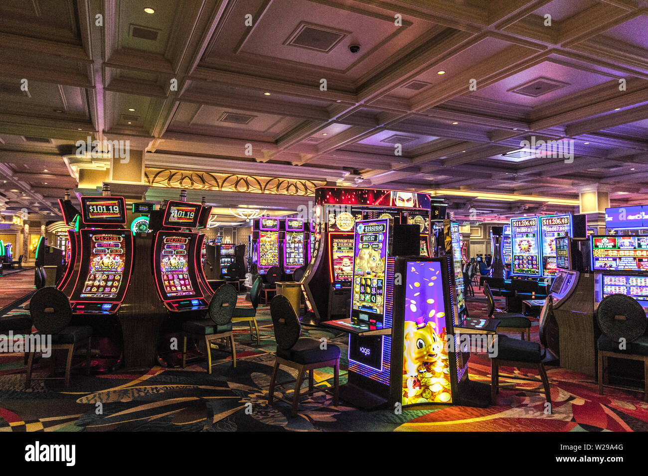 Video Slots High Resolution Stock Photography And Images Alamy