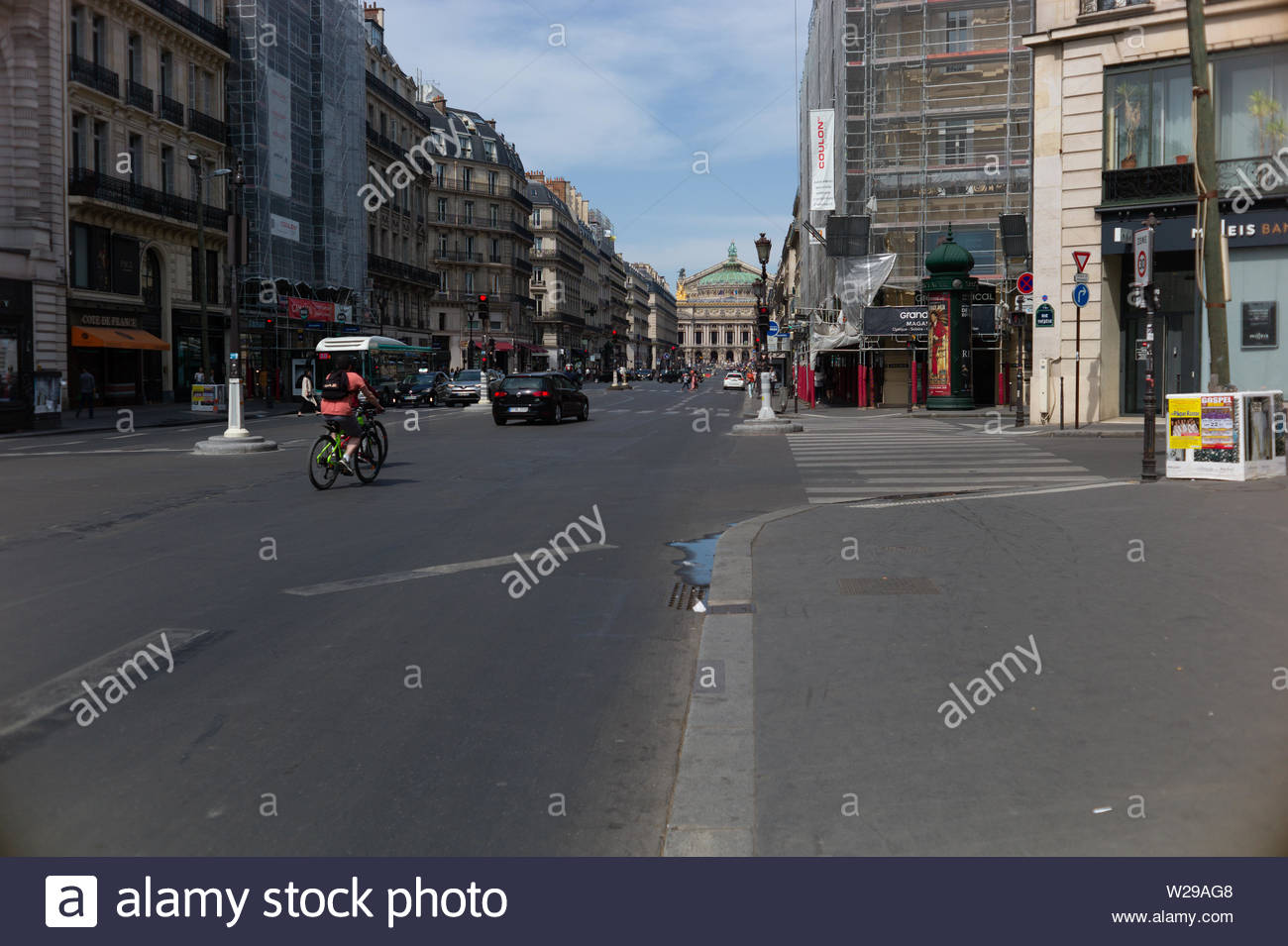 Paris - the Capitol of French is always worth a visit. Or better 10 visits and some more. You will love it. - Stock Image