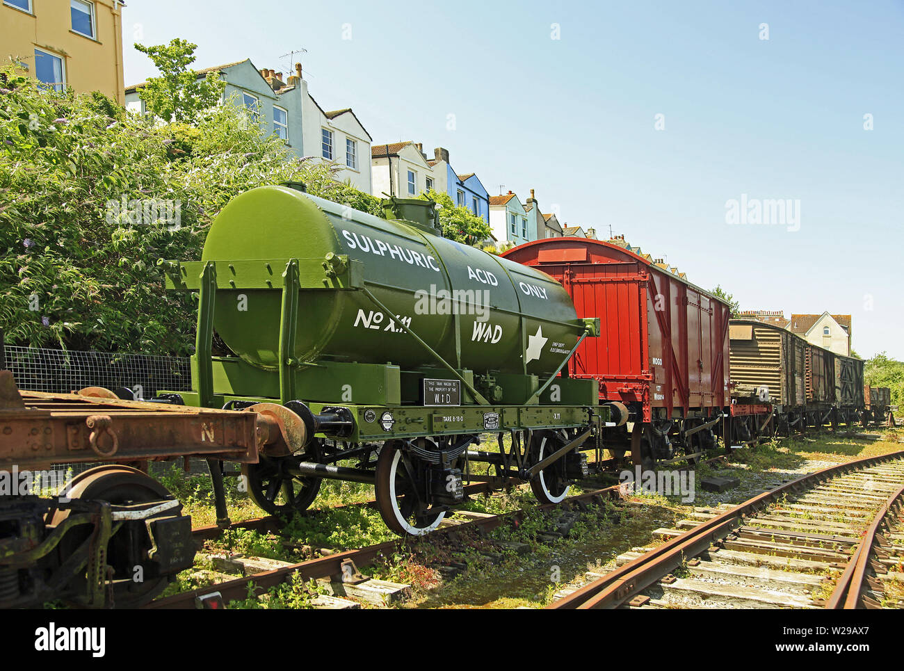 Rolling Stock - Stock Image