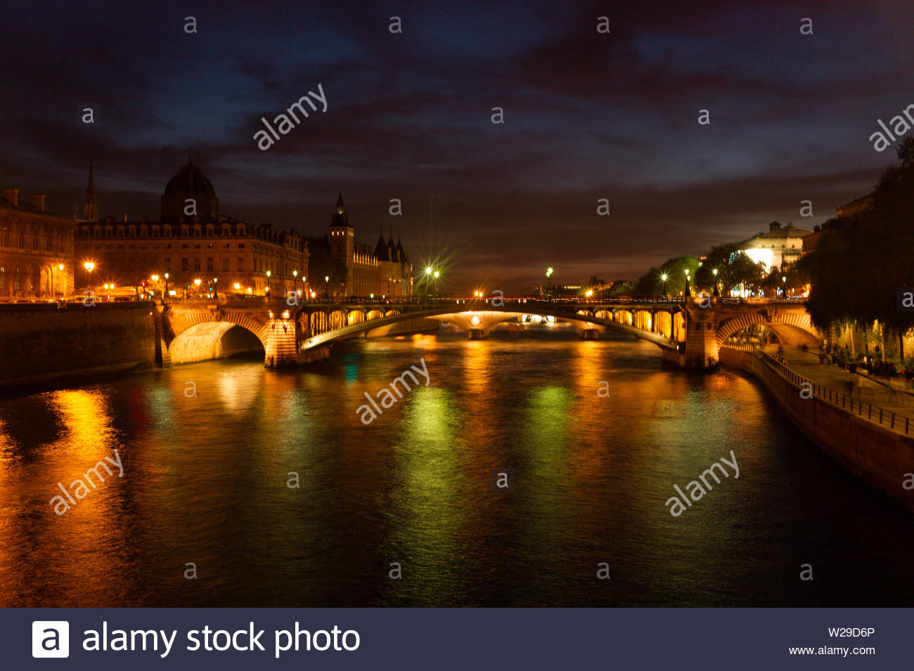 Paris - the Capitol of French is always worth a visit. Or better 10 visits and some more. You will love it. Stock Photo