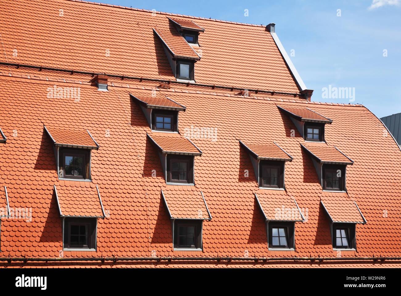 Old granary in Bydgoszcz. Poland Stock Photo