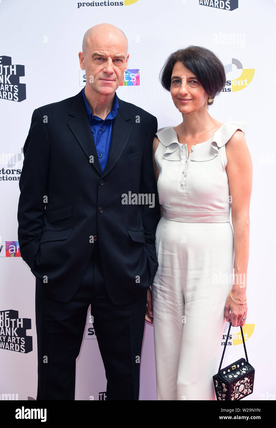 Pip Torrens attending the South Bank Sky Arts Awards at the Savoy Hotel in London. Stock Photo