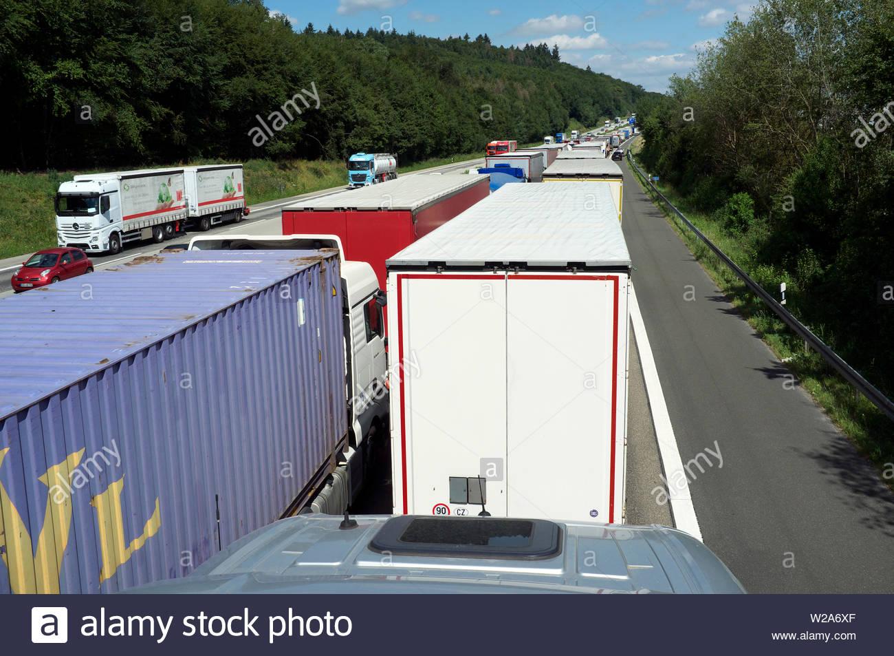 Traffic Jam A3 Stock Photos & Traffic Jam A3 Stock Images - Alamy