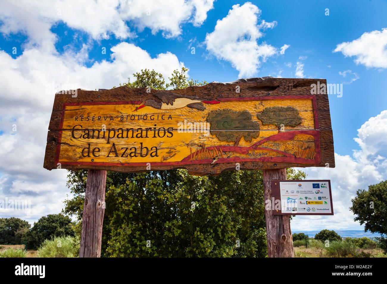 Campanarios de Azaba Biological Reserve, Salamanca, Castilla y Leon, Spain, Europe Stock Photo
