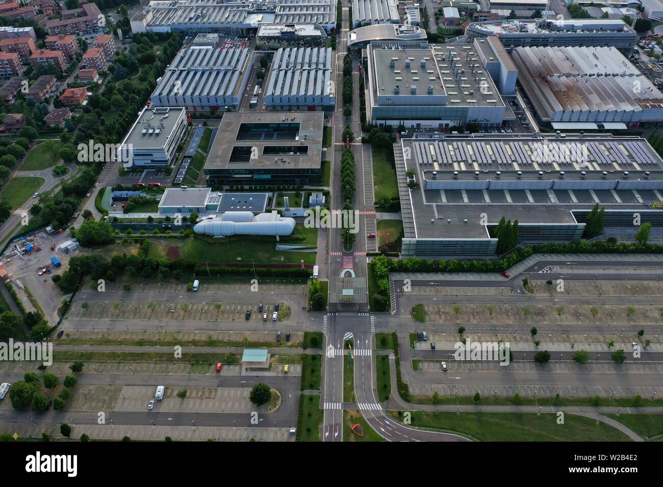 Ferrari Factory Exterior High Resolution Stock Photography And Images Alamy