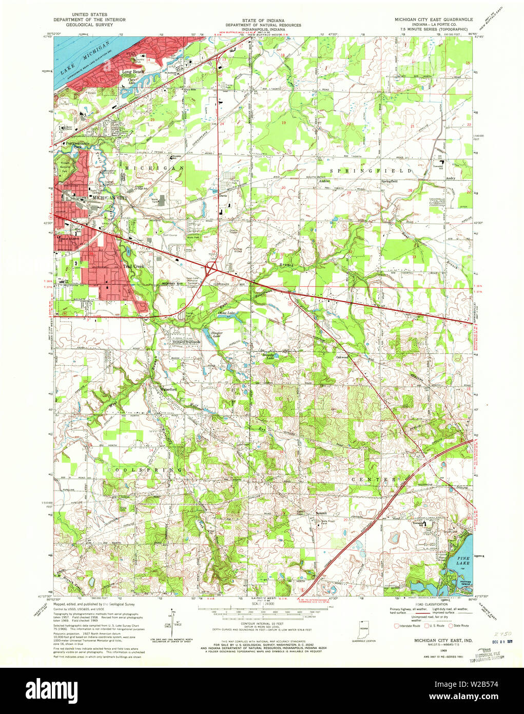 USGS TOPO Map Indiana IN Michigan City East 160672 1969 ... Map Michigan City Indiana on trail creek indiana map, weather lansing michigan map, mongo indiana map, usa map, south bend indiana map, hammond indiana map, michigan city apartments, michigan city area map, burlington indiana map, wawasee indiana map, wisconsin indiana map, tell city map, michigan city lighthouse, saturn indiana map, waynetown indiana map, michigan border map, united states indiana map, gardner indiana map, michigan city in map, bethel college indiana map,