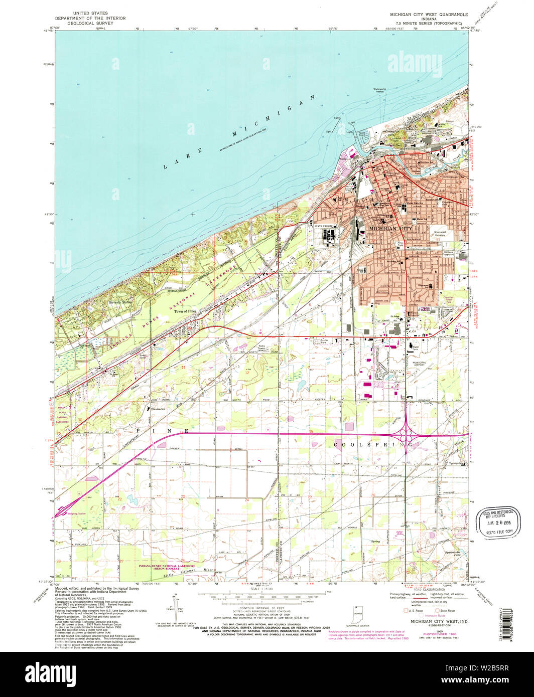 USGS TOPO Map Indiana IN Michigan City West 160678 1969 ... Map Michigan City Indiana on trail creek indiana map, weather lansing michigan map, mongo indiana map, usa map, south bend indiana map, hammond indiana map, michigan city apartments, michigan city area map, burlington indiana map, wawasee indiana map, wisconsin indiana map, tell city map, michigan city lighthouse, saturn indiana map, waynetown indiana map, michigan border map, united states indiana map, gardner indiana map, michigan city in map, bethel college indiana map,
