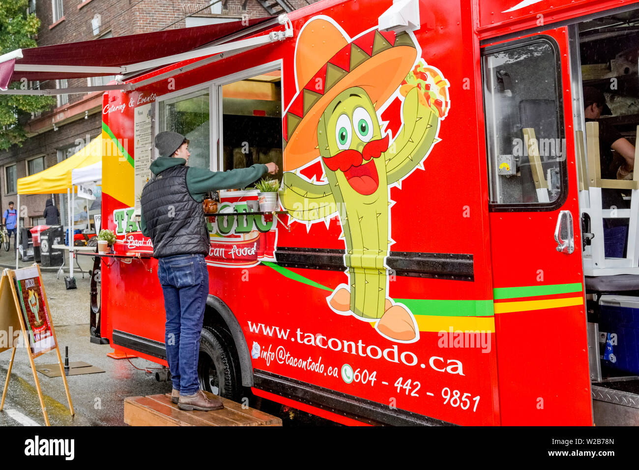 Taco Truck High Resolution Stock Photography And Images Alamy