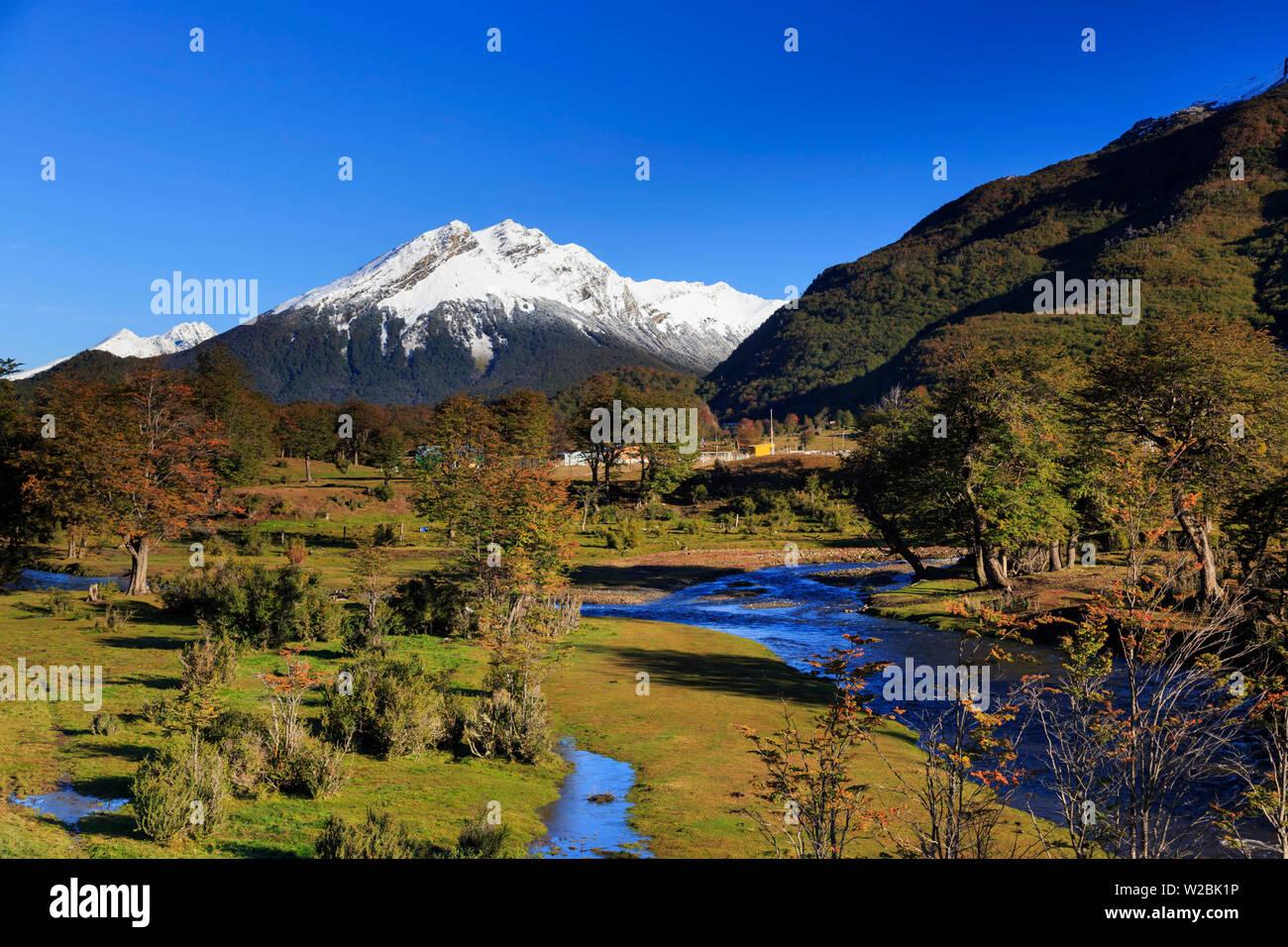 Argentina, Tierra del Fuego, Ushuaia, Tierra del Fuego National Park - Stock Image