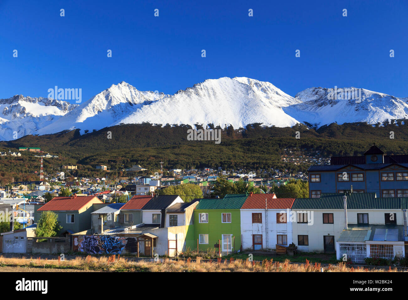 Argentina, Tierra del Fuego, Ushuaia - Stock Image