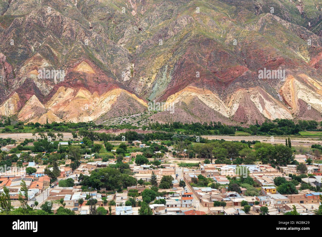 Argentina, Salta, Quebrada de Humahuaca (UNESCO Site), Sumaj Maimara Village - Stock Image